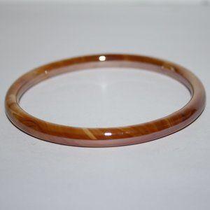 Glass/ stone bangle bracelet